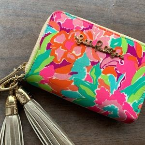Lilly Pulitzer wallet/wristlet